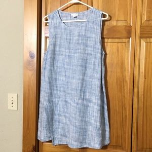 PureJill Linen Wrap Style Dress - Medium/Tall